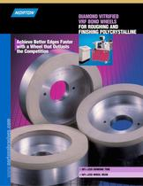 Diamond Vitrified VRF Bond Wheels