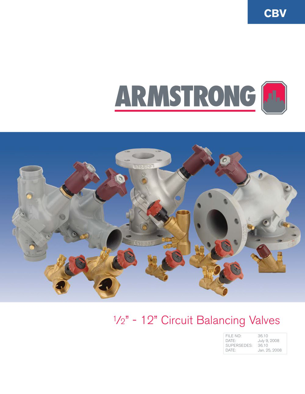 circuit balancing valves s a armstrong limited pdf catalogue circuit balancing valves 1 8 pages