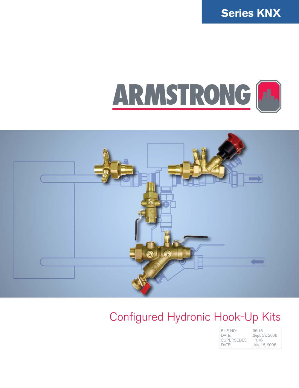 Knx Configured Hydronic Hook Up Kits S A Armstrong Limited Pdf Pump Motor Wiring Diagram 1 2 Pages