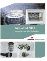 Industrial 5015 Connectors and Cable Assemblies Catalog