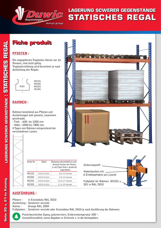 Paletten Regal   1 / 2 Pages
