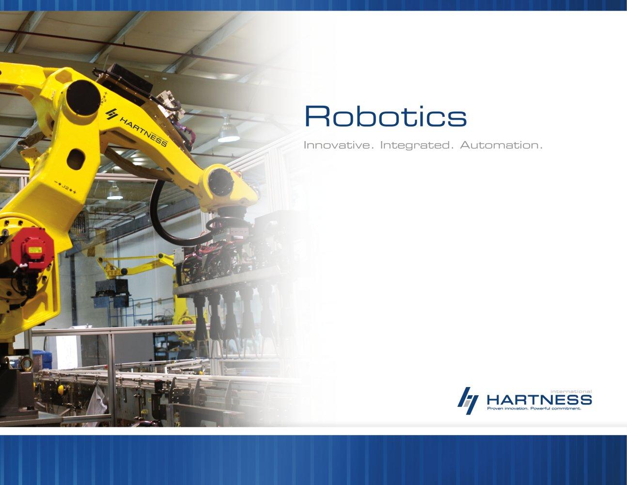 Robotics Hartness Pdf Catalogs Technical Documentation Brochure