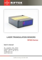 Inexpensive and compact Laser Triangualtion Sensor RF605
