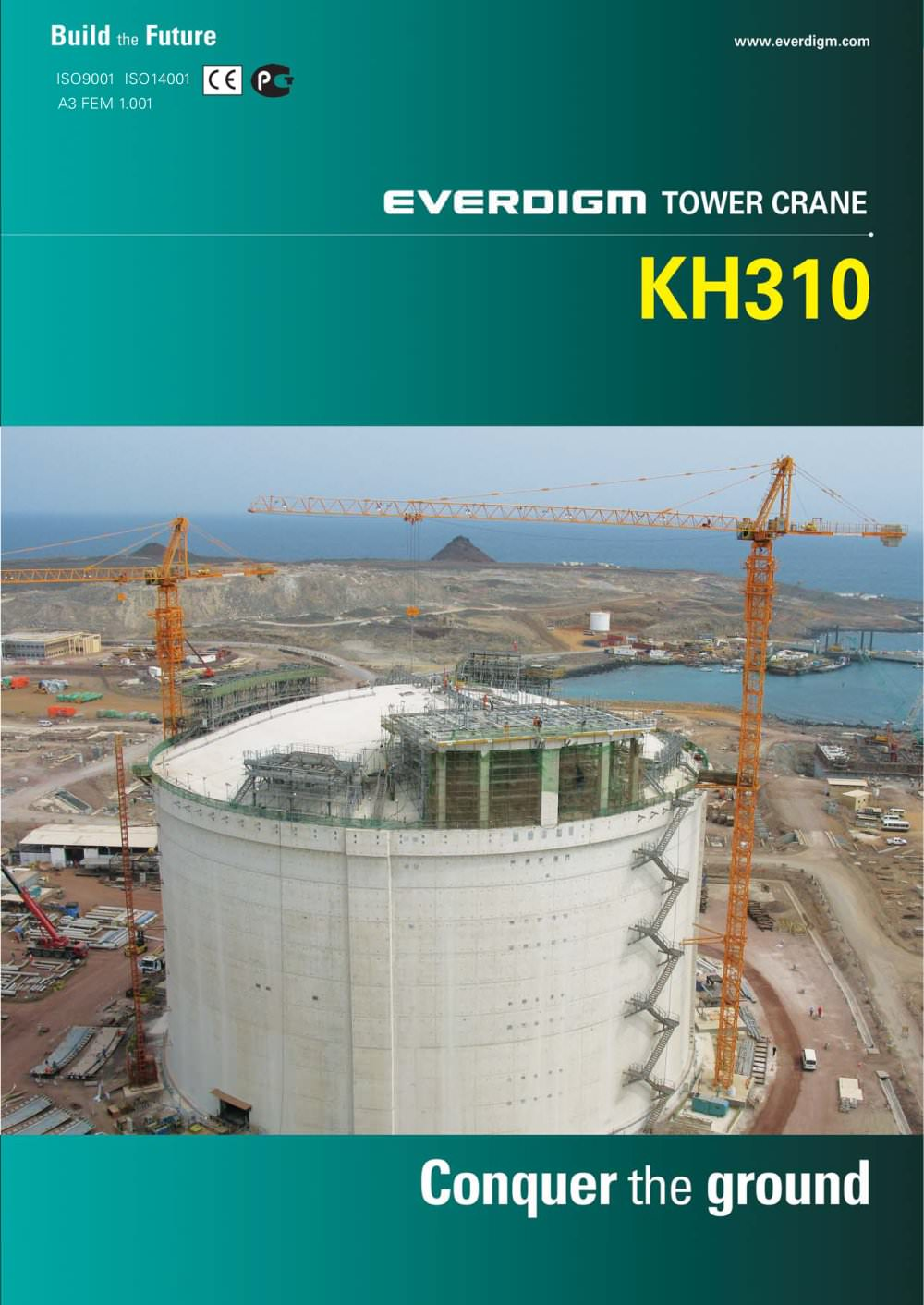 Tower Crane Kh310 Everdigm Pdf Catalogue Technical Generator Accessory Buy Safety Switchair Circuit Breakergenerator 1 6 Pages