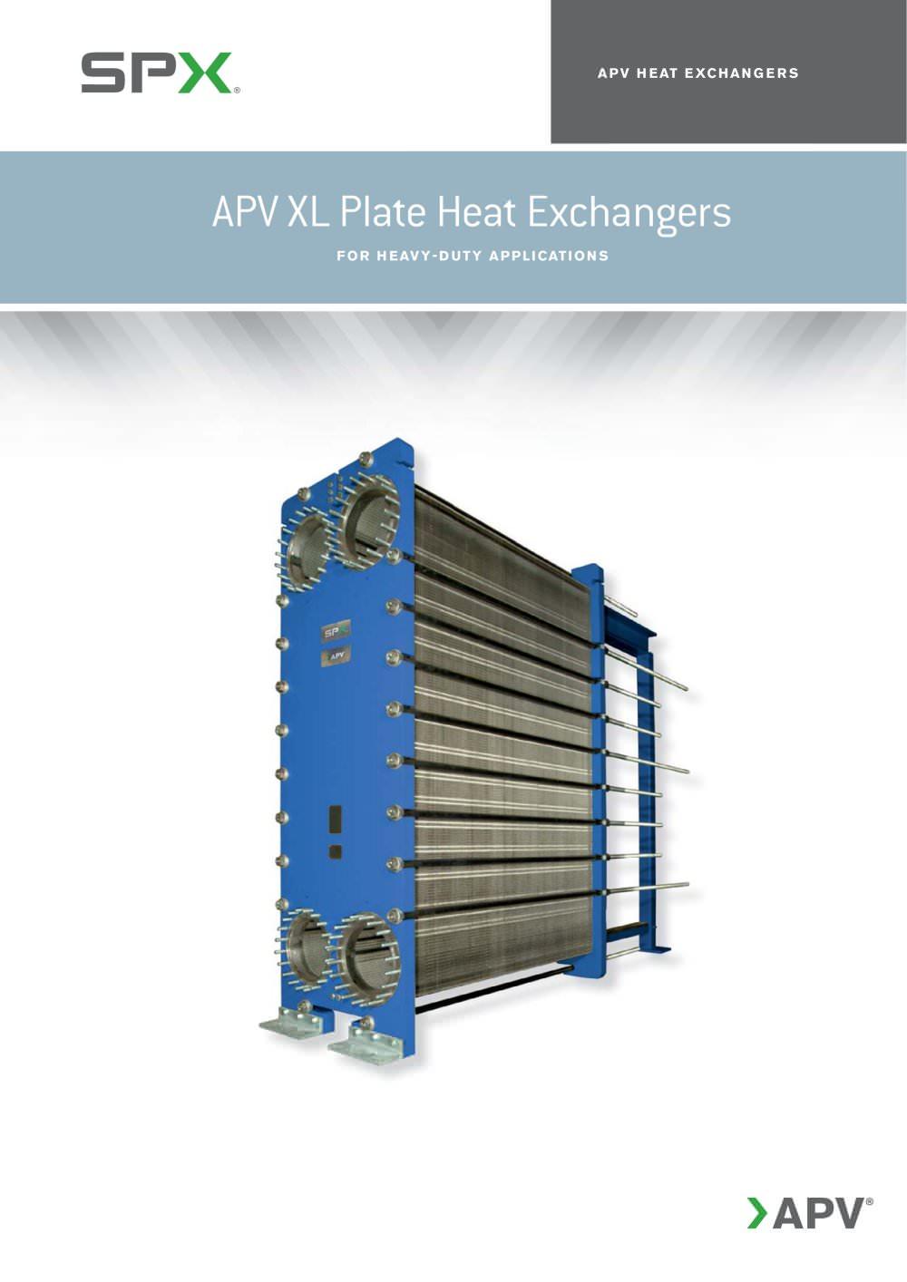 APV XL PLate Heat Exchangers - APV - PDF Catalogue | Technical ...