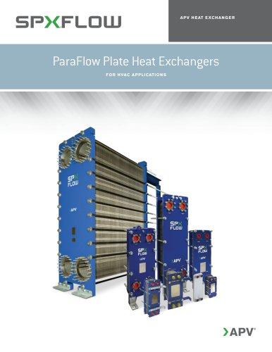 ParaFlow Plate Heat Exchangers - APV - PDF Catalogs | Technical