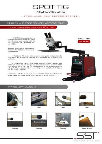 SPOT TIG SST 220 AC/DC - SST MICROWELDING - PDF Catalogs
