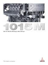 1015M The marine engine