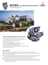 912 The agricultural equipment engine