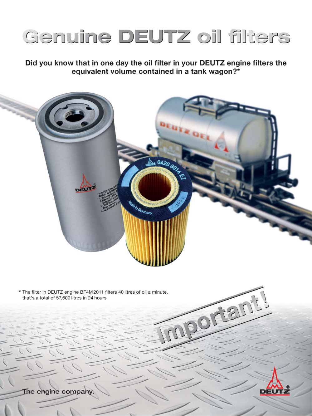 Flyer oil filter 1 2 pages