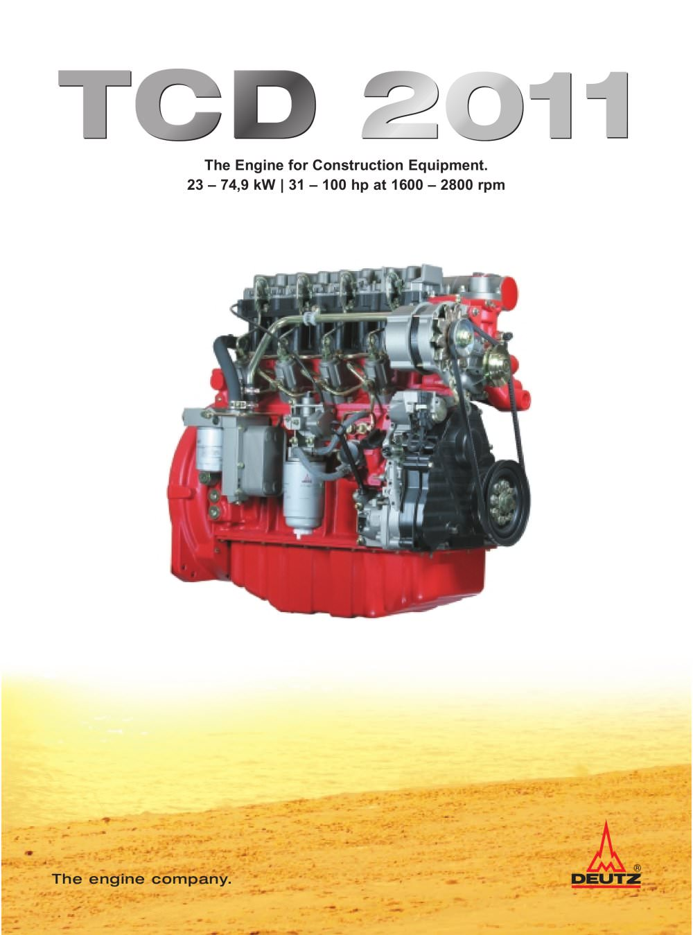 TCD 2011 The construction equipment engine - 1 / 6 Pages