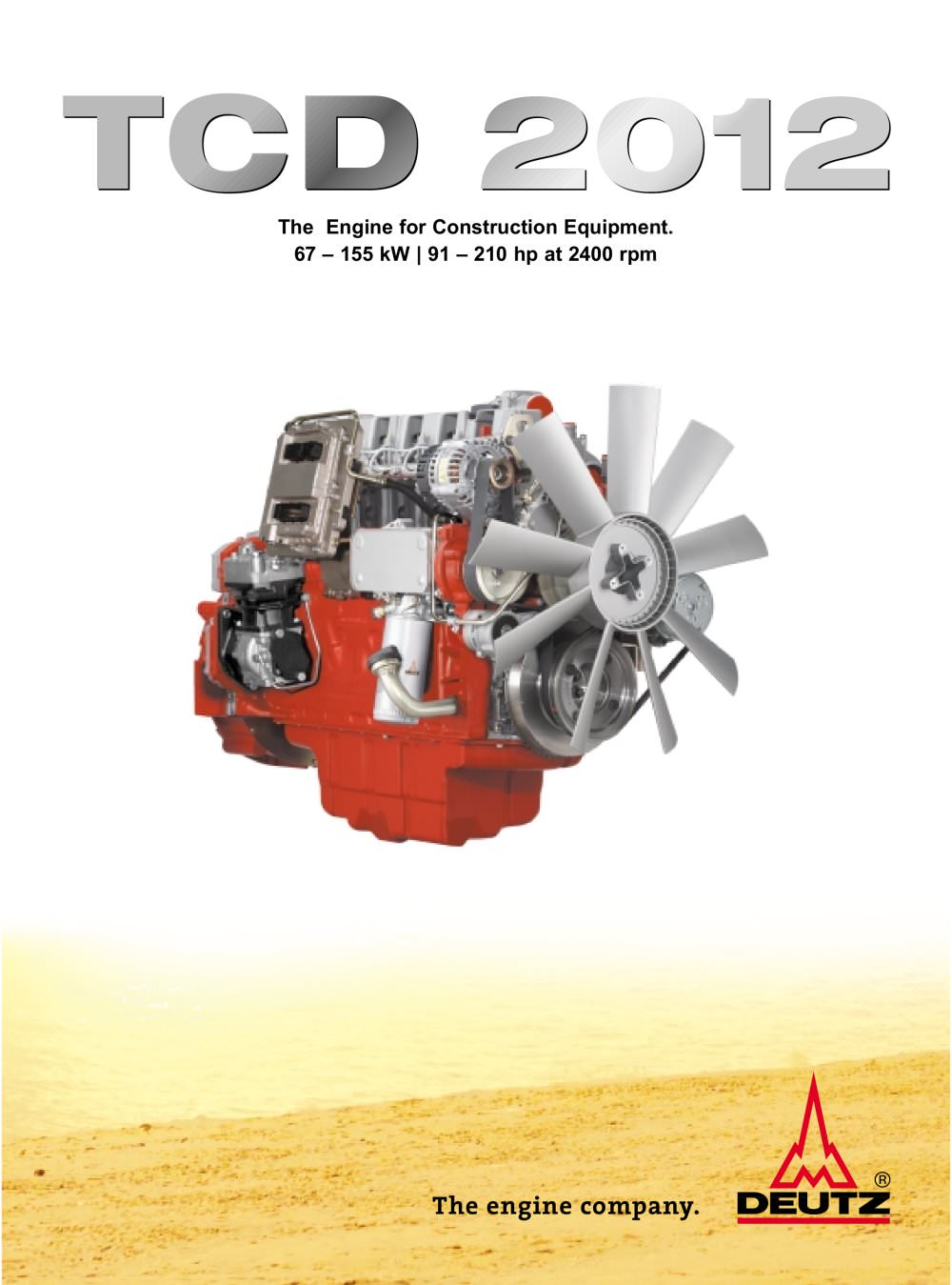 TCD 2012 The construction equipment engine - 1 / 4 Pages