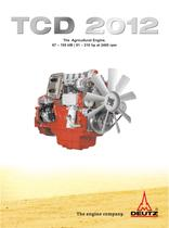 TCD 2012 The agricultural equipment engine