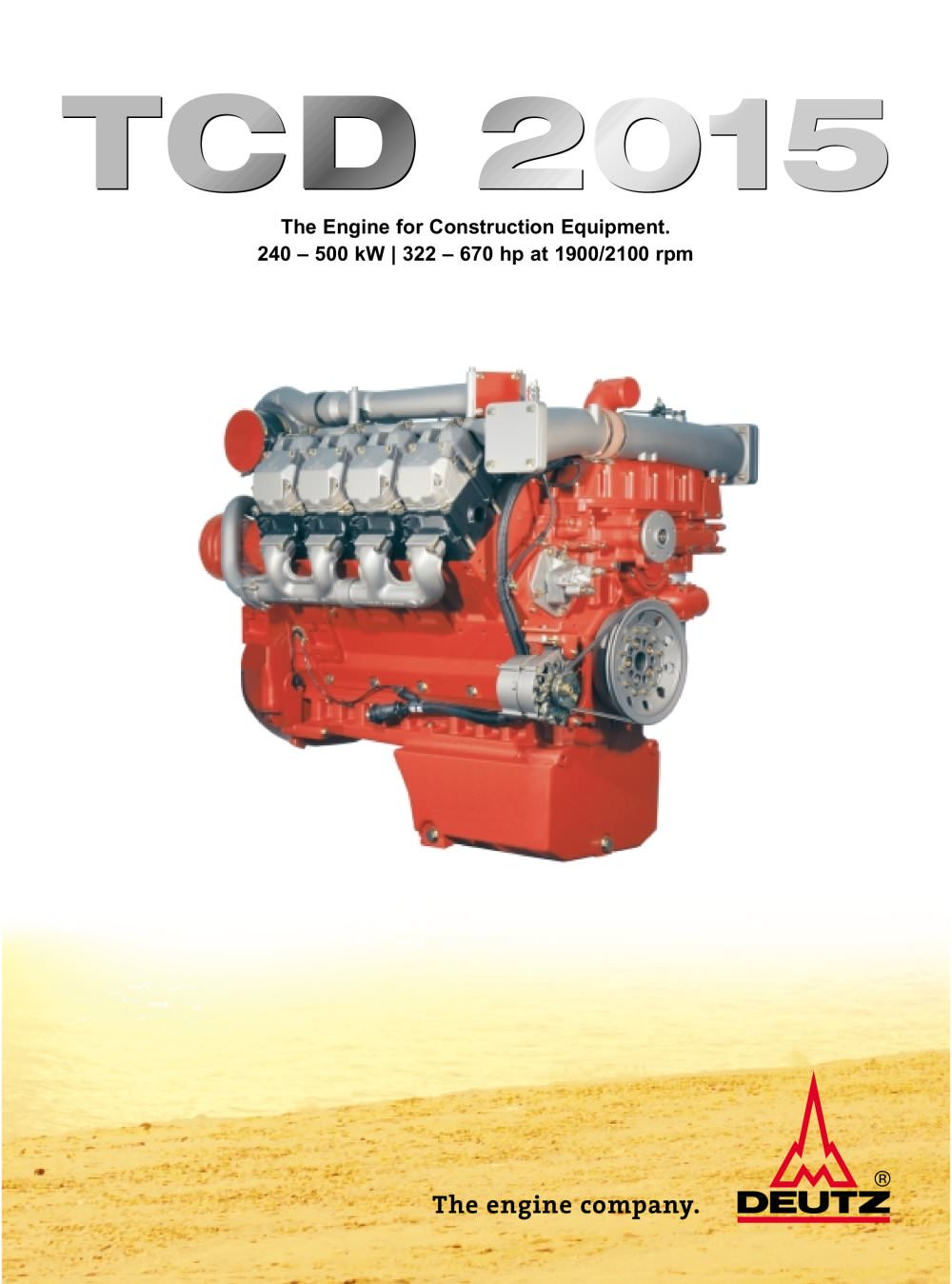 TCD 2015 The construction equipment engine - 1 / 4 Pages