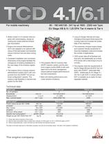 TCD 4.1 L4 Engine for Industrial Applications