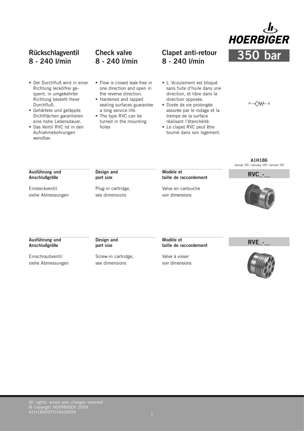 Check and flow control valves hoerbiger automatisierungstechnik check and flow control valves 1 36 pages buycottarizona