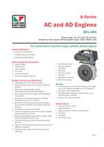 AC and AD Engines