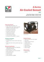 Air-Cooled Genset