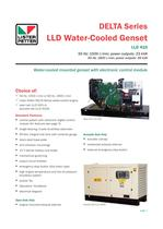 DELTA Series LLD Water-Cooled Genset