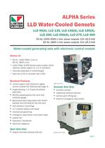 LLD Water-Cooled Gensets