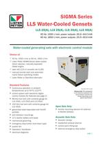 LLS Water-Cooled Gensets