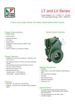 LV1 3000r/min Variable Speed.Fuel Stop Power.End Cover for Hydraulic Drive.