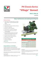 PH Classic-Series �Village� Genset