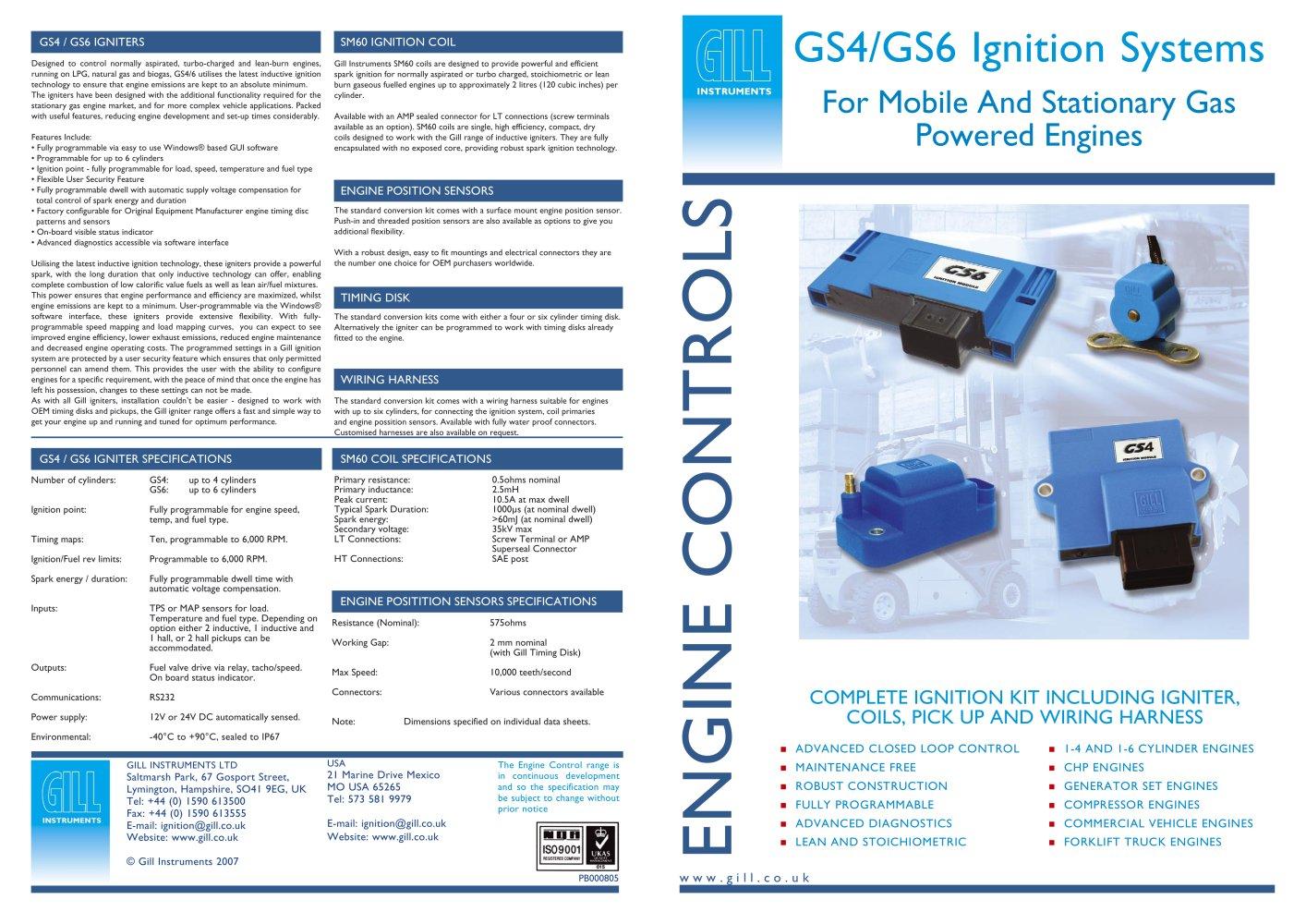 Engine Controls Brochure - Gill instruments - PDF Catalogue ...