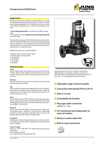 MultiFree-Pump with vortex impeller
