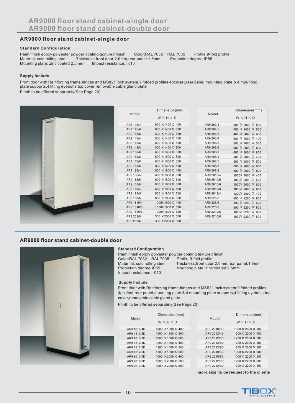 TIBOX steel floor standing cabinet electrical power control board  switchgear panel   1   3 Pages. TIBOX steel floor standing cabinet electrical power control board