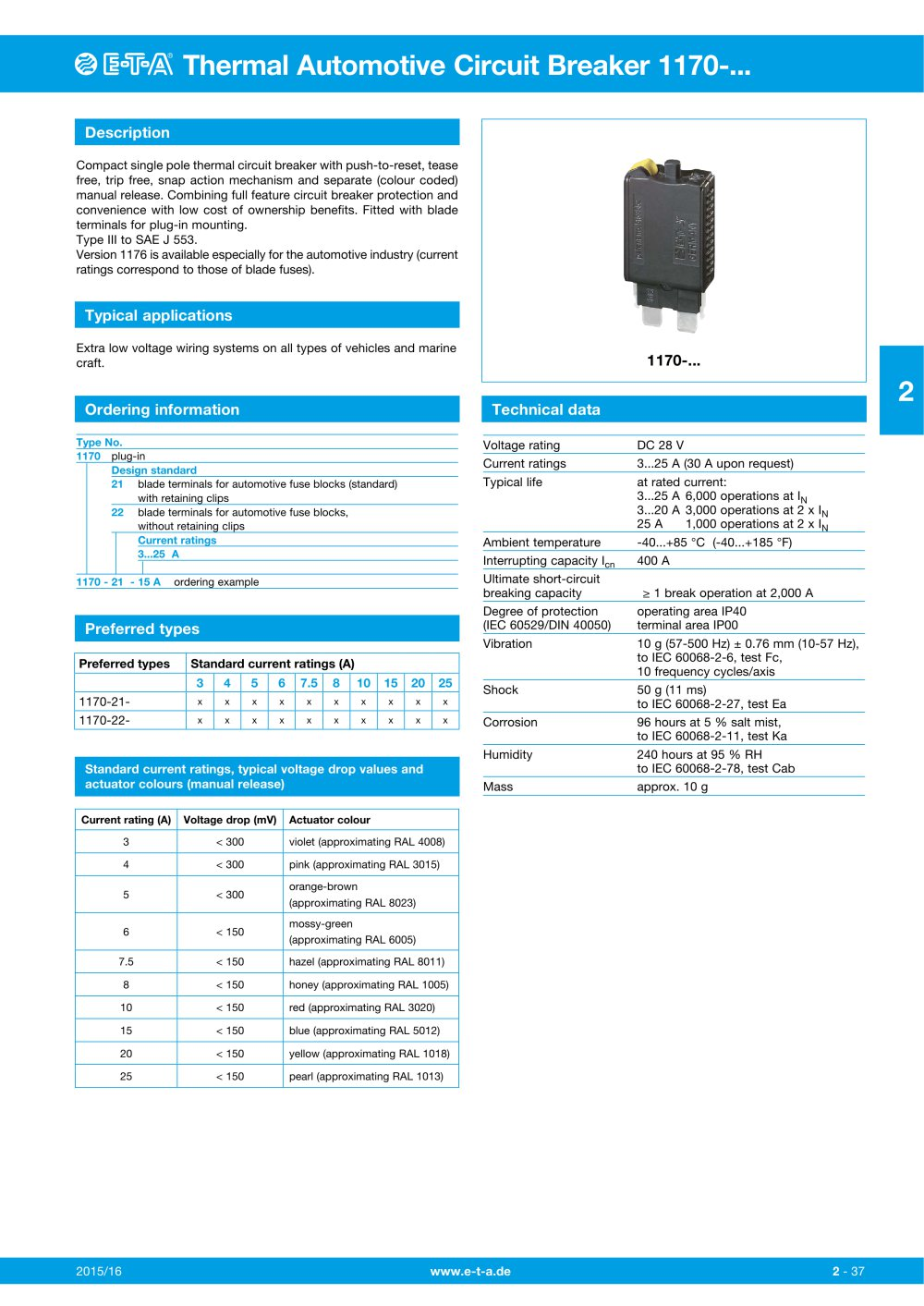 Automotive Circuit Breaker 3 Subscribe Tipos De Cancer 30 Amp Inline Perpendicular Mount Bracket Pollak Thermal 1170 1 4 Pages