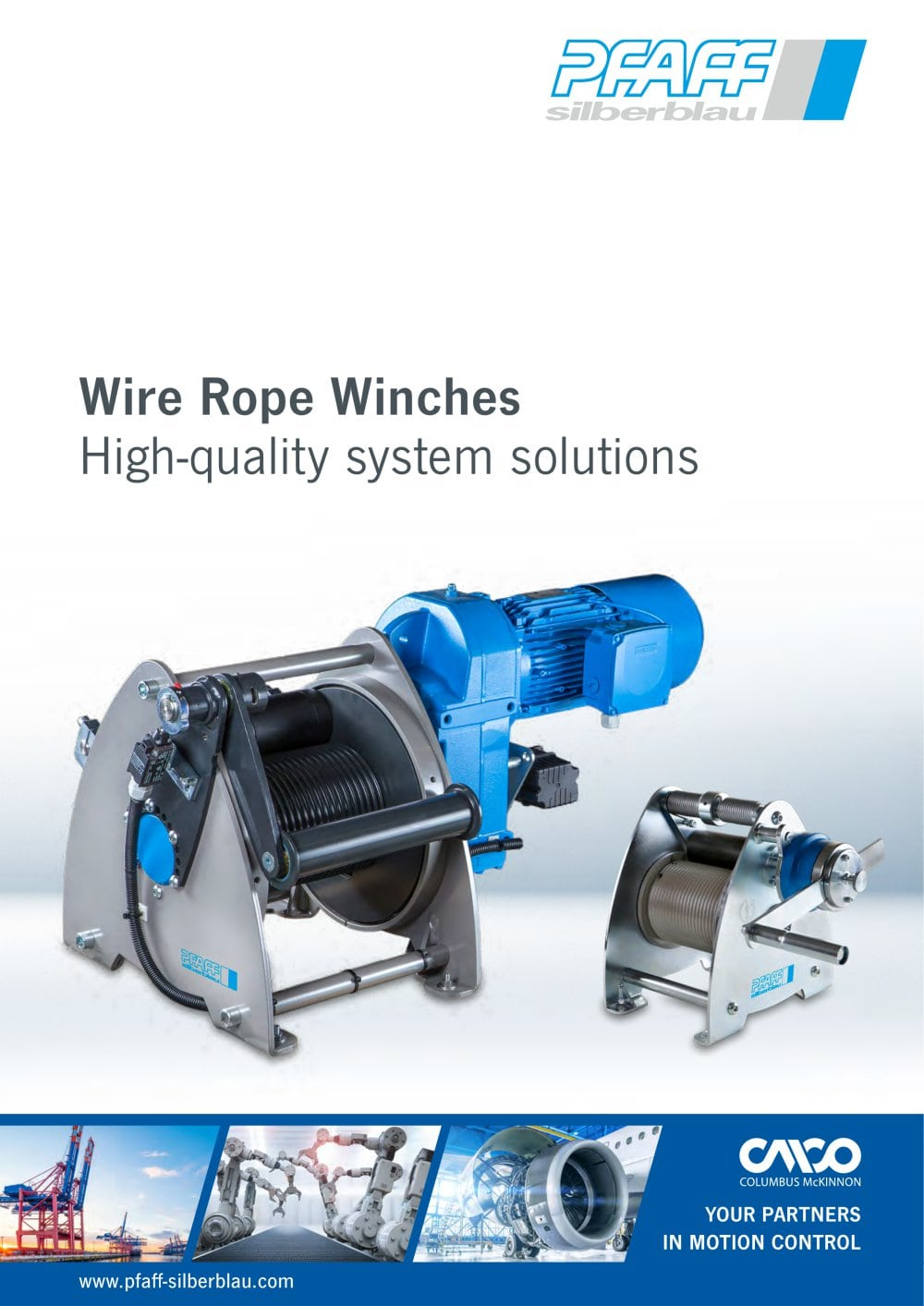 WIRE ROPE WINCHES - Columbus McKinnon Engineered Products GmbH - PDF ...