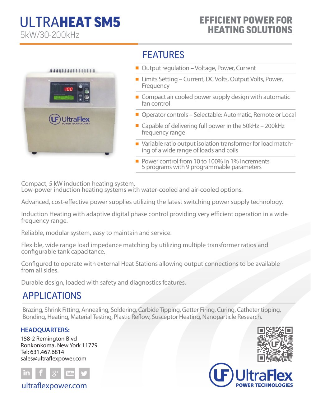 Ultraheat Sm5 Ultraflex Power Pdf Catalogue Technical Supplies And Control Supply Volt 1 2 Pages