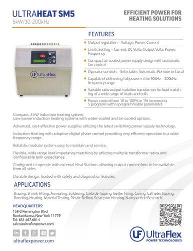 ULTRAHEAT SM5 - Ultraflex Power - PDF Catalogs | Technical