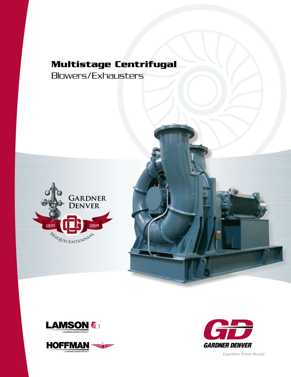multistage centrifugal blowers exhausters hoffman lamson pdf rh pdf directindustry com Gardner Denver Blower Vacuum Pump Gardner Denver Blower Vacuum Pump