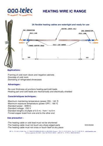 IC heating cord
