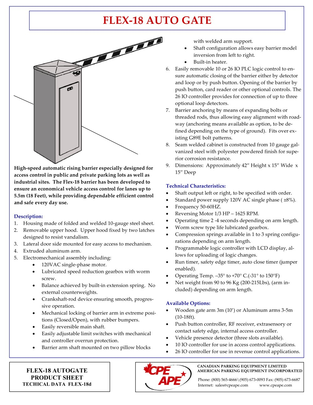 flex 18 barrier gate new g89 76016_1b flex 18 barrier gate (new g89) cpe ape pdf catalogue barrier gate wiring diagram at webbmarketing.co