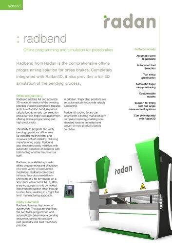 RADAN Radbend