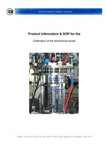 CITSens Ion product info Ammonium-probe biotech