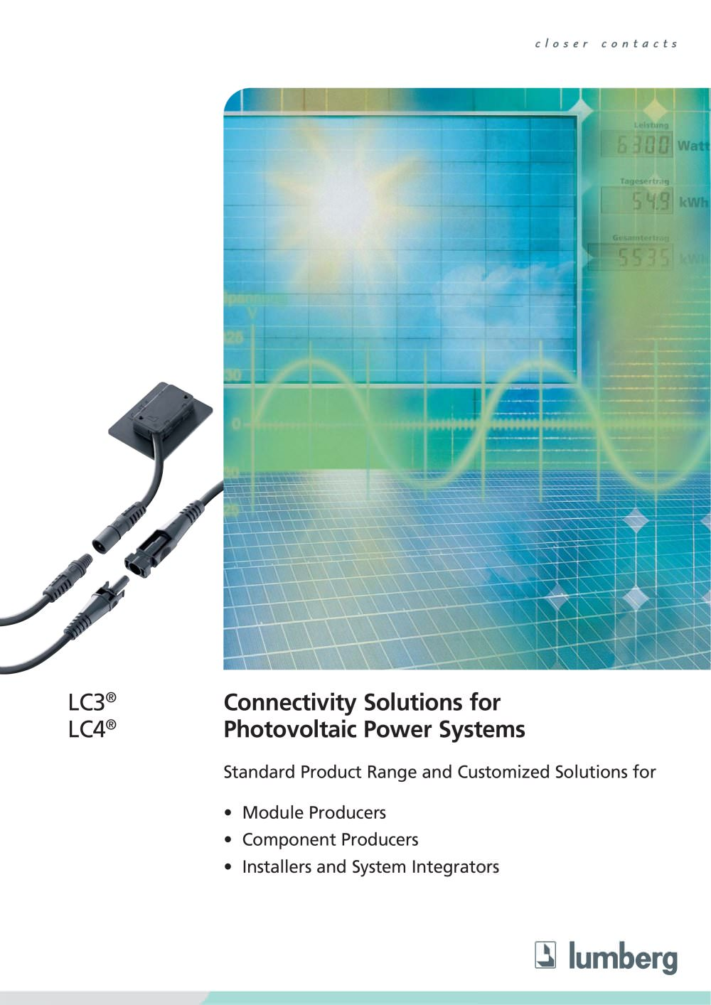 Photovoltaic - Lumberg Connect - PDF Catalogue | Technical ...