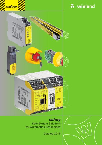 safety - Catalogue 2015