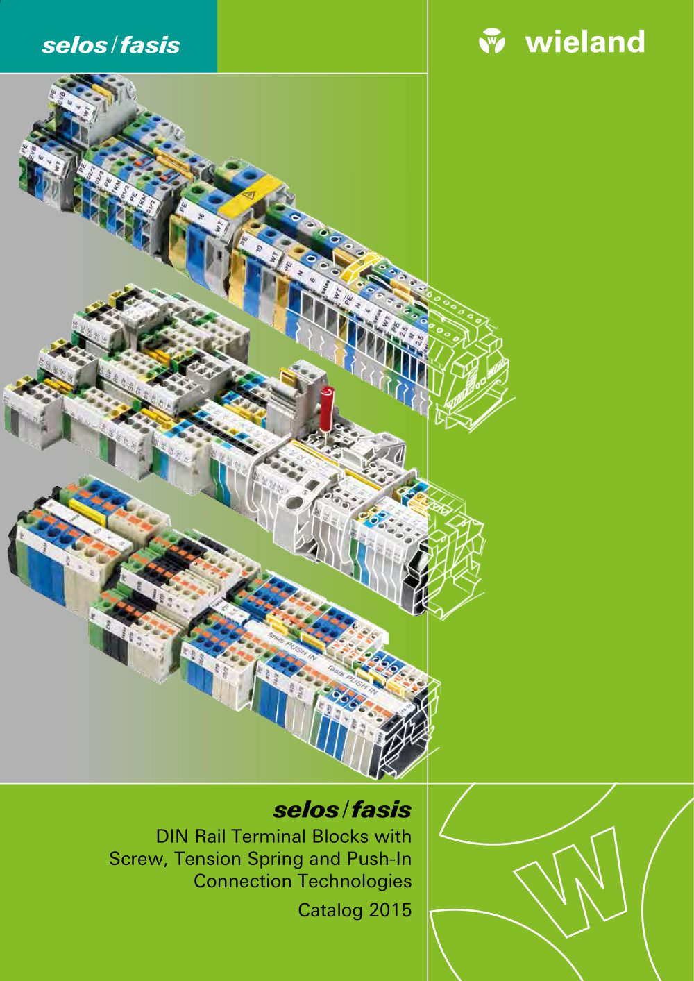 Terminal Block Catalog WIELAND ELECTRIC PDF Catalogue