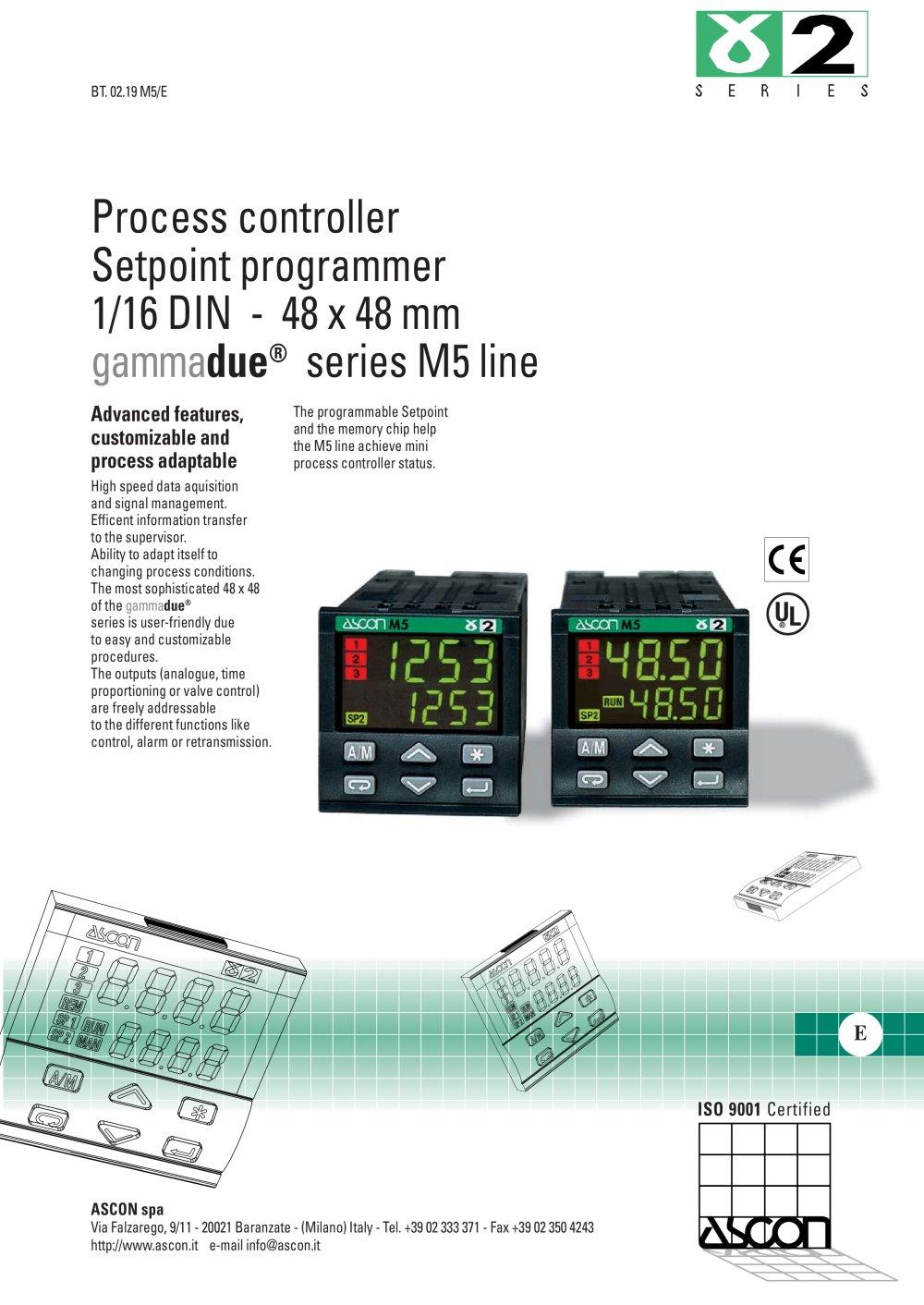 Management control pdf alarm for process