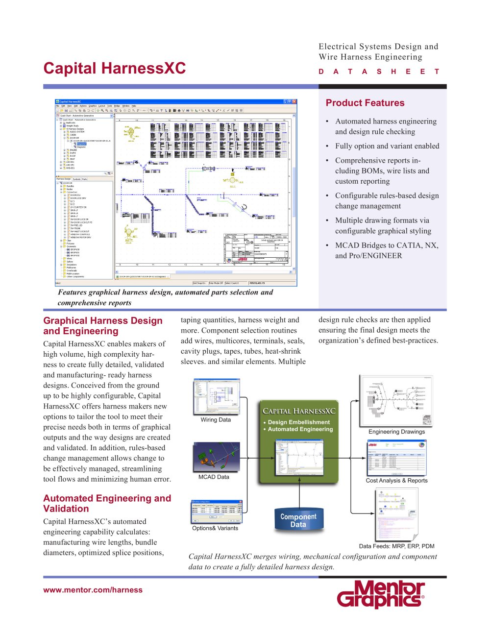 Capital HarnessXC - Mentor Graphics - PDF Catalogue | Technical ...