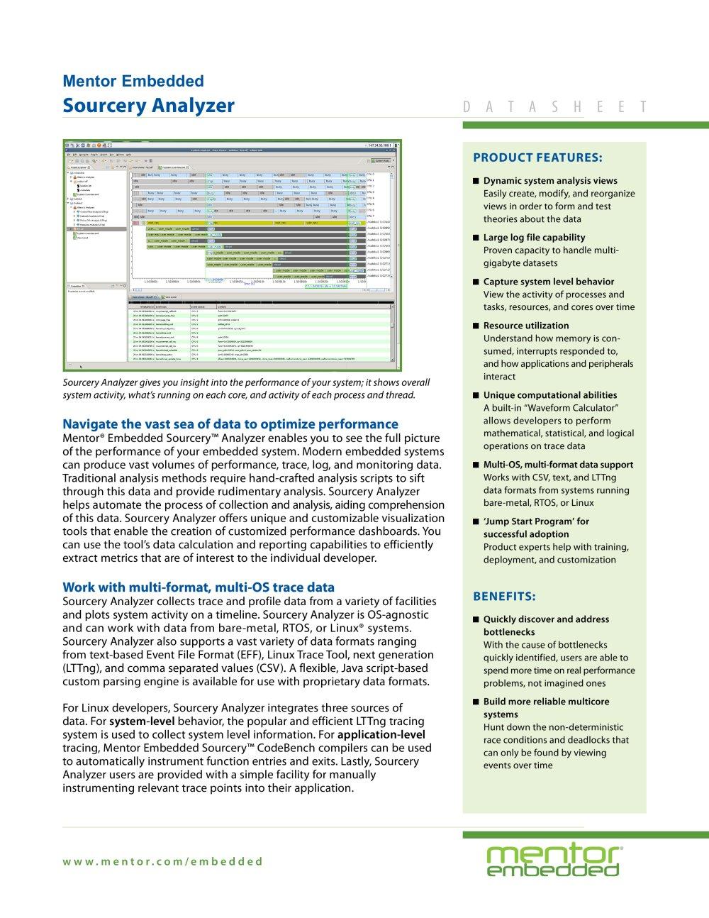Sourcery Analyzer Mentor Graphics Pdf Catalogs Technical