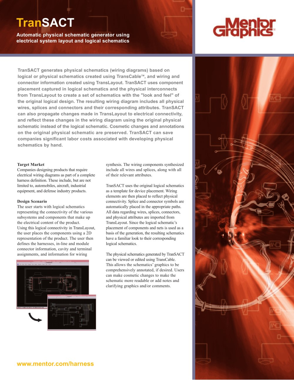 Transact Mentor Graphics Pdf Catalogue Technical Documentation Some Industrial Electrical Wiring Diagrams Diagram 1 2 Pages