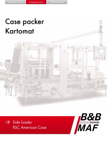 Case packer Kartomat