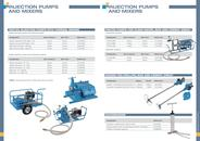 INJECTION PUMPS AND MIXERS