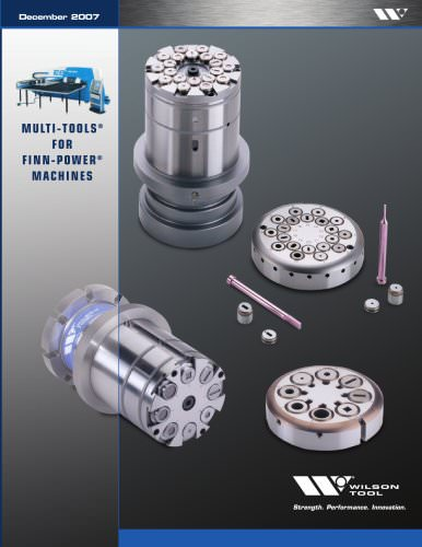 Multi-Tools® for Finn-Power® Machines Catalog