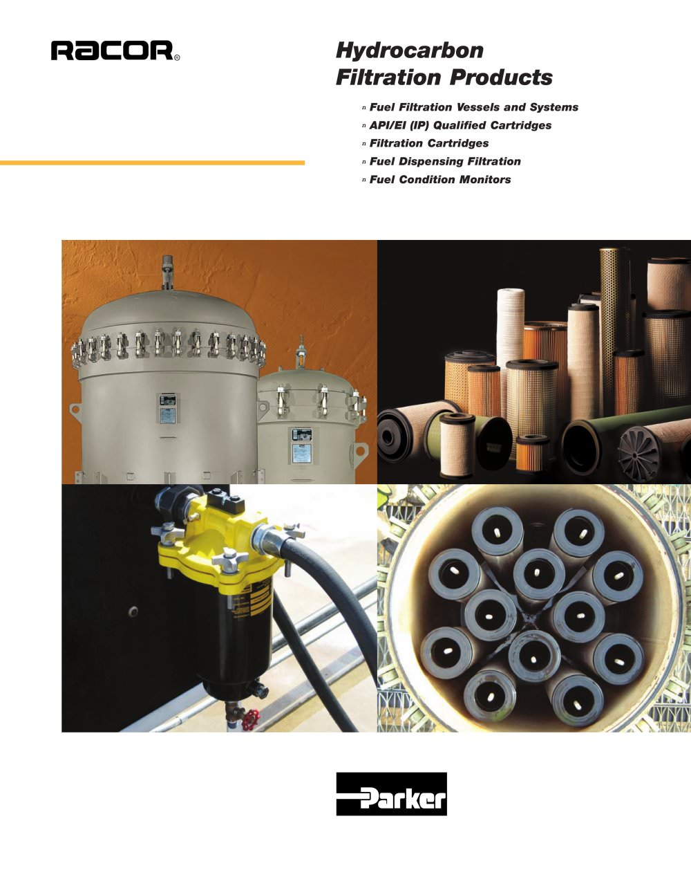 Parker Fuel Filter Eco Glass Iii Oil System Wire Hydrocarbon Filtration Products Racor Division Pdf 1 24